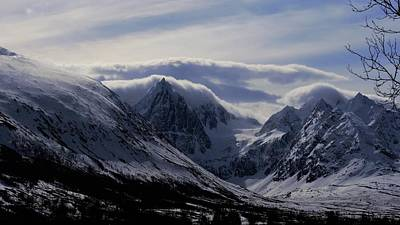 Photograph - mystery mountains in North of Norway by Tamara Sushko
