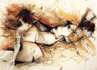 Wall Art - Painting - Mystery Of Beauty  by Larissa Pirogovski