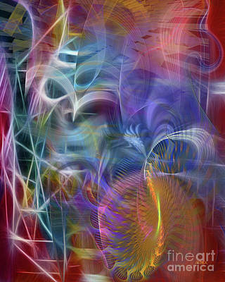 Digital Art - Mystery Of Light by John Beck