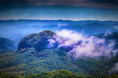 Digital Art - Mystery Of Looking Glass Rock by John Haldane