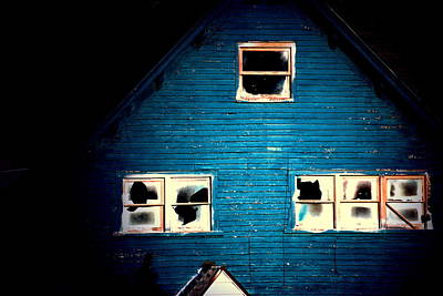 Photograph - Mystery Of The Blue House by Emily Stauring