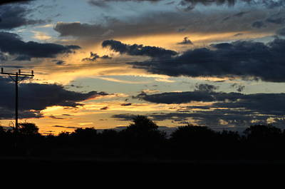 Photograph - Mystery Sky by Joe  Burns