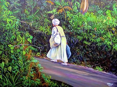 Painting - Mystery Woman by Ewan McAnuff