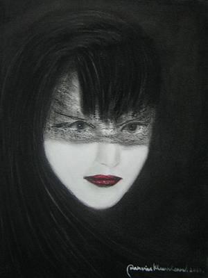 Painting - Mystery Woman by Wanvisa Klawklean