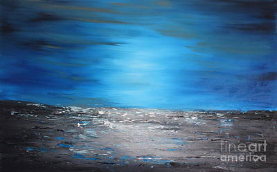 Painting - Mystic Blue by Preethi Mathialagan