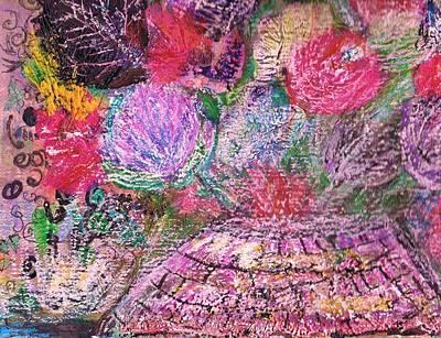 Mystic Bouquet  Art Print by Anne-Elizabeth Whiteway