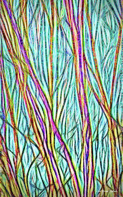 Digital Art - Mystic Branches by Joel Bruce Wallach