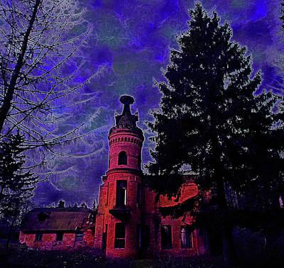 Mystic Castle Original by Yaroslav Veretin