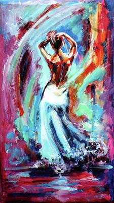 Painting - Mystic Dance by Kovacs Anna Brigitta