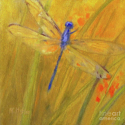 Painting - Mystic Dragonfly by Mary Hubley