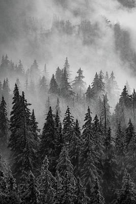 Winter Storm Photograph - Mystic  by Dustin LeFevre