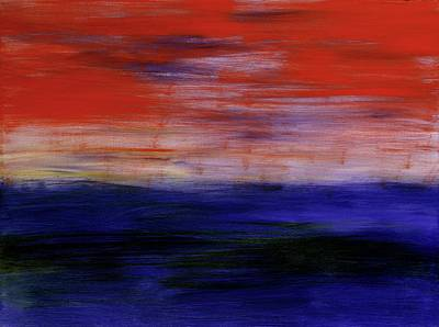 Painting - Mystic Evening by Angela Bushman
