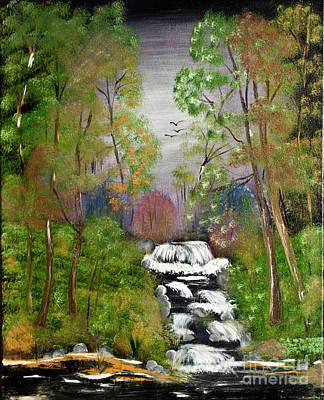 Painting - Mystic Fall by Joseph Summa