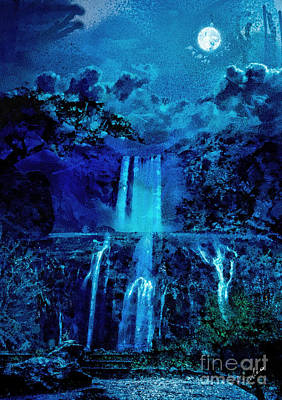 Painting - Mystic Falls by Mo T