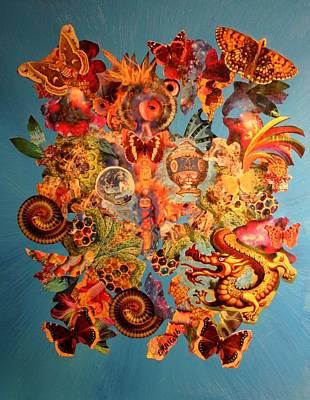 Mixed Media - Mystic Garden by Bob Craig