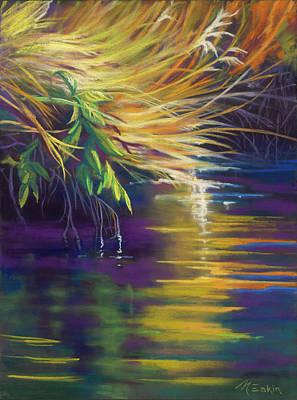 Pastel - Mystic Grasses by Marjie Eakin-Petty