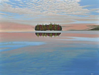 Painting - Mystic Island by Kenneth M Kirsch