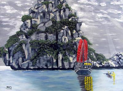 Mystic Island Original by Pete Souza