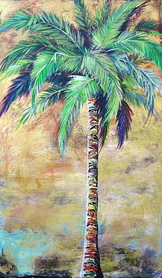 Painting - Mystic Palm by Kristen Abrahamson