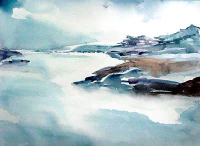 Mystic River Art Print