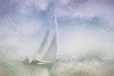 Photograph - Mystic Sail by Karen Lynch