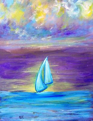 Painting - Mystic Sails by Patricia Taylor