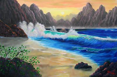 Fantasy Painting - Mystic Sea by William Williams