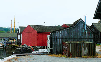 Photograph - Mystic Seaport #1 by Susan Vineyard