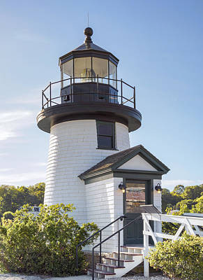Photograph - Mystic Seaport Lighthouse 2 by Marianne Campolongo