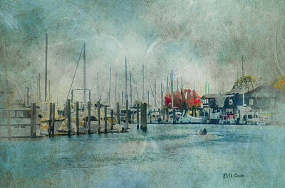 Mystic Seaport - Mystic Connecticut Art Print by Bill Cannon