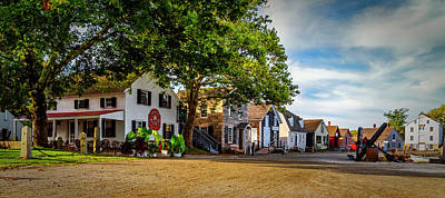 Photograph - Mystic Seaport Village by Dutch Ducharme