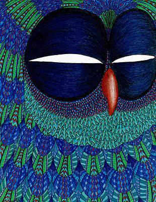 Drawing - Mystic Sovicka by Baruska A Michalcikova