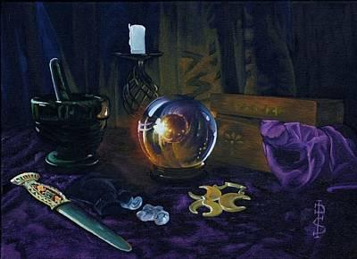 Mystic Still Life Original by Pauline Sharp