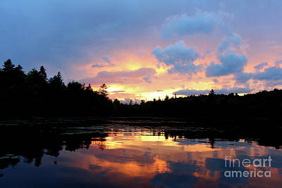 Photograph - Mystic Sunset  by Neal Eslinger