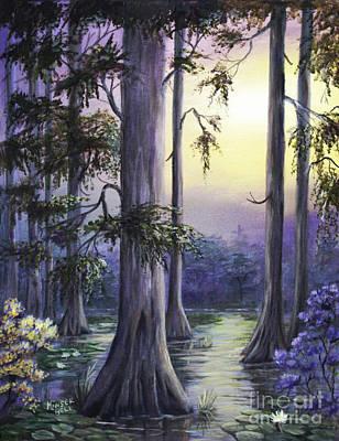 Painting - Mystic Swamp by Marlene Kinser Bell
