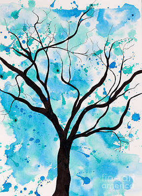 Mystic Tree Art Print