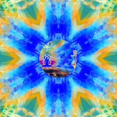 Digital Art - Mystic Universe 13 Kk2 by Derek Gedney