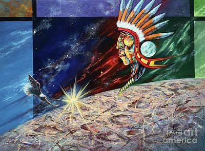 Cartoons Tees - Mystic Warrior by Paul Henderson