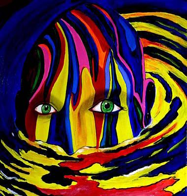 Painting - Mystic Waters by Pj Artman