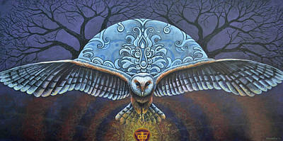Painting - Mystic Wisdom by Kristen Holmberg
