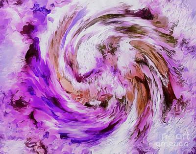 Rotation Digital Art - Mystic Zen by Krissy Katsimbras