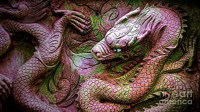 Digital Art - Mystical Ancient Dragon Of China by Ian Gledhill