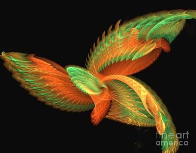 Digital Art - Mystical Bird by Yali Shi