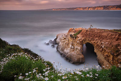 La Jolla Photograph - Mystical Cave by Larry Marshall