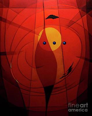 Mystical Composition Art Print by Alberto DAssumpcao