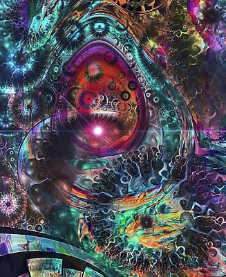 Digital Art - Mystical Dimensions by Linda Sannuti