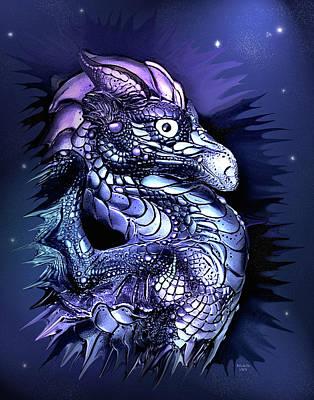 Digital Art - Mystical Dragon  by Artful Oasis