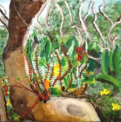 Mystical Forest Landscape Art Print by Jason Rosenstock