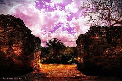 Photograph - Mystical Mayan Ruins by John Potts