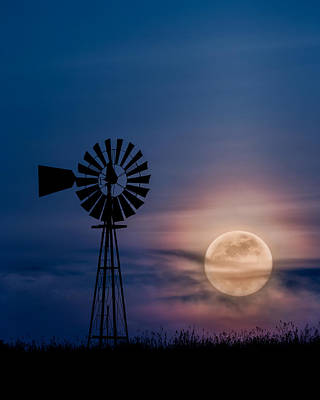 Photograph - Mystical Moon by Bill Wakeley